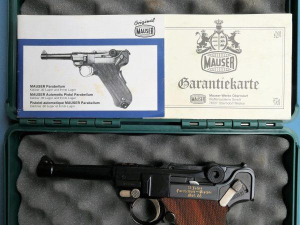 Parabellum Mauser, Erinnerungsmodell 75 Jahre