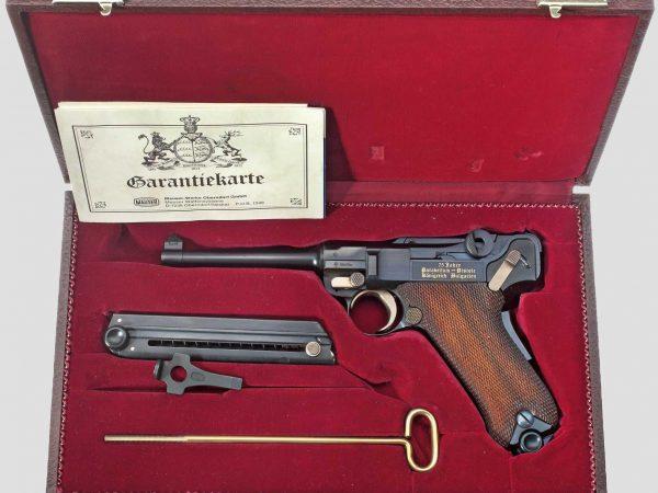 Parabellum Mauser, Erinnerungsmodell Königreich Bulgarien 2