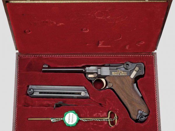 Parabellum Mauser, Erinnerungsmodell Königreich Bulgarien